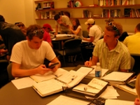Tutors Working in Math Lab 2006